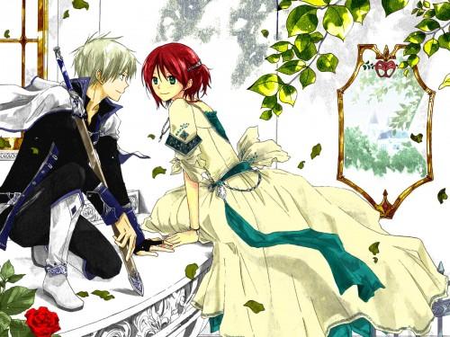 Akagami no shirayukihime >>>zen &; shirayuki forever~!!!