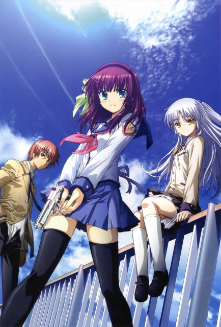 Angel Beats Wallpaper And Scan Gallery Minitokyo