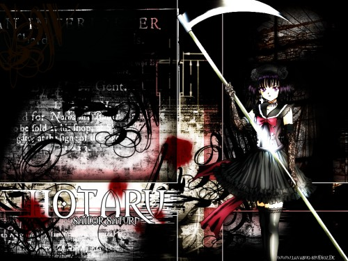 Moon Wallpapers » Bishoujo Senshi Sailor Moon Wallpaper: dark hotaru v2