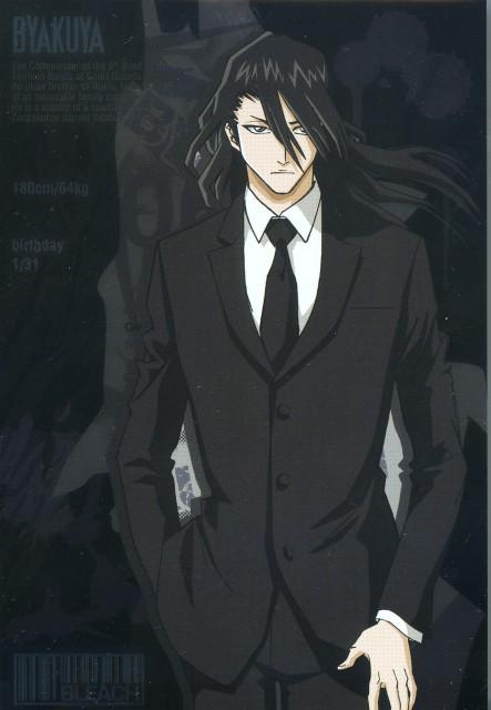 Ficha de Byakuya Bleach.234311
