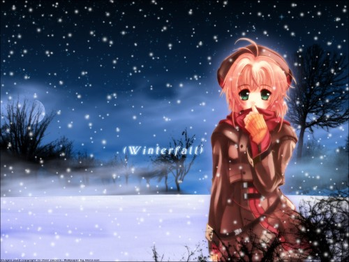 """A wall in winter season """"let is snow"""" hehe I should submit this in winter"""