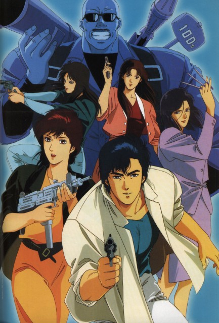 City Hunter Wallpaper And Scan Gallery Minitokyo