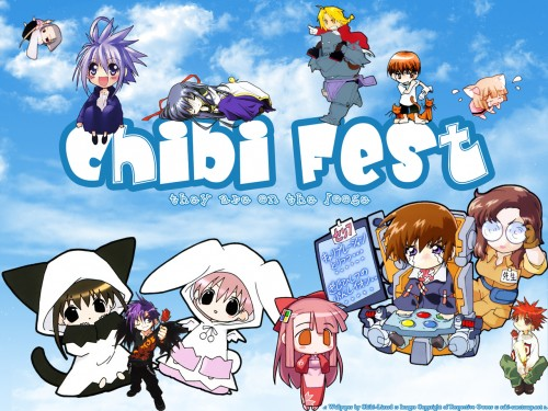 Minitokyo » Crossovers Wallpapers » Crossovers Wallpaper: :: ChiBi FeSt ::