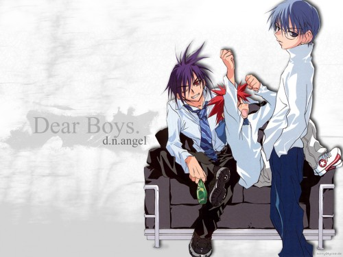 Minitokyo » D.N.Angel Wallpapers » D.N.Angel Wallpaper: Dear Boys.