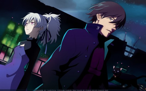 Yuji Iwahara, BONES, Darker than Black, Mao, Yin Wallpaper