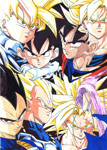 Dragon Ball Wallpaper Gohan. Yamato Dragon Ball Z Battle