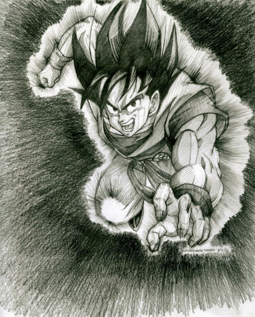 Dragon Ball Z Drawings. Anime Manga » Dragon Ball Z