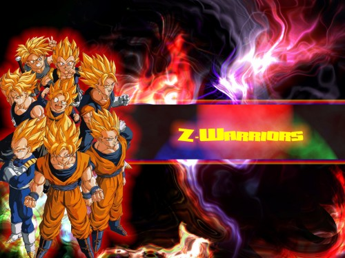 Minitokyo » Dragon Ball Z Wallpapers » Dragon Ball Z Wallpaper: Z-Warriors