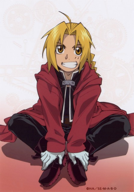 Edward Elric Wallpaper And Scan Gallery Minitokyo