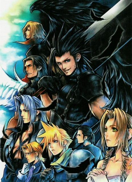 Final Fantasy Vii Crisis Core Wallpaper And Scan Gallery
