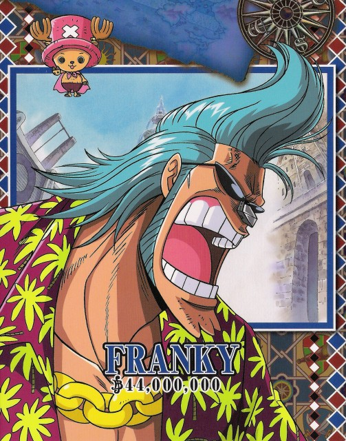 Franky Wallpaper And Scan Gallery Minitokyo