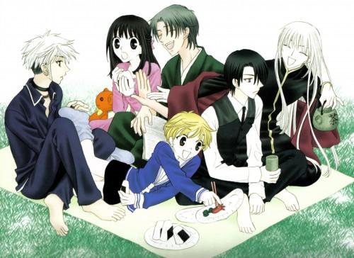 Natsuki Takaya, Fruits Basket, Hatori Sohma, Shigure Sohma, Hatsuharu Sohma