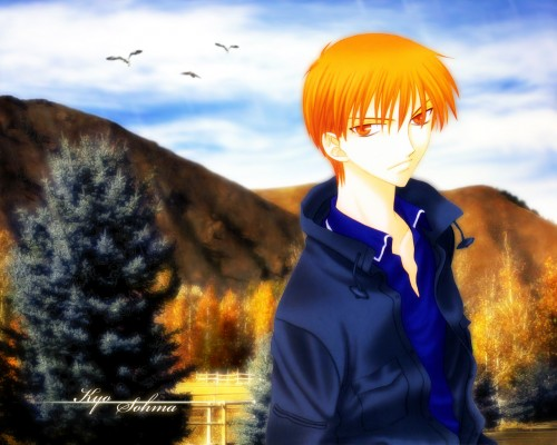Natsuki Takaya, Fruits Basket, Kyo Sohma Wallpaper