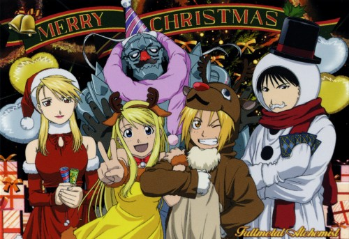 Merry Christmas, Happy Hanakuh, Happy Kwanza, and if you're atheist, Have a Nice Day! Fullmetal.Alchemist.191772