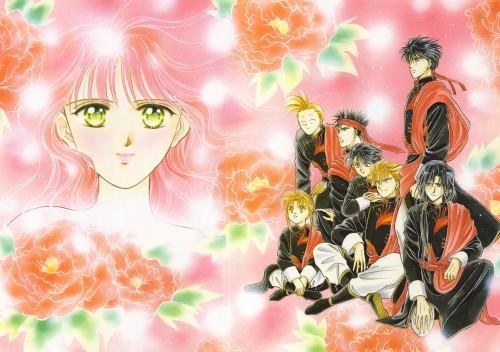 Fushigi Yuugi Group Wallpaper