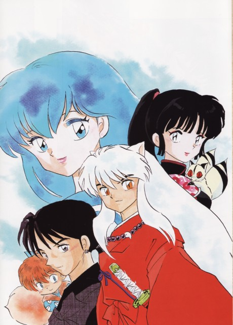 Inuyasha Wallpaper And Scan Gallery Minitokyo
