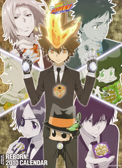Katekyo Hitman Reborn Wallpaper And Scan Gallery Minitokyo