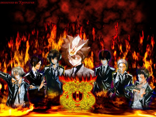 Wallpapers » Katekyo Hitman Reborn! Wallpaper: The Seven Flames