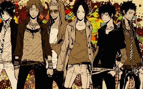 Wallpapers » Katekyo Hitman Reborn! Wallpaper: Boys in colour