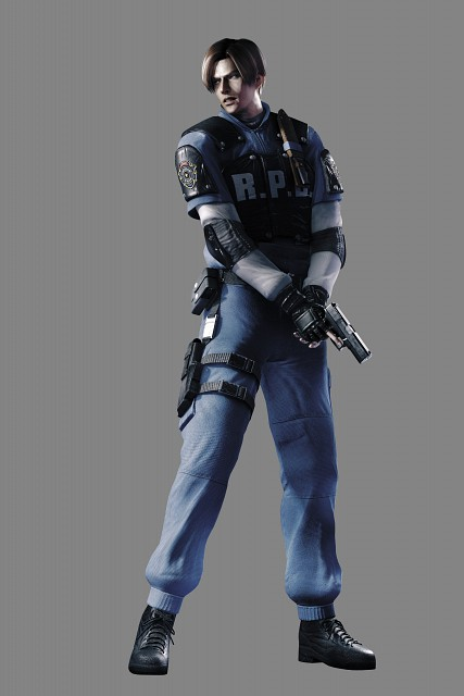 Leon S Kennedy Wallpaper And Scan Gallery Minitokyo