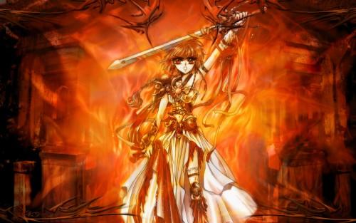 wallpapers fire. Wallpaper: Goddess of Fire