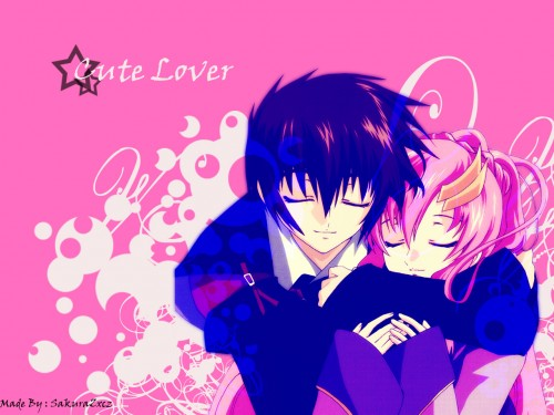 Gundam SEED Wallpapers » Mobile Suit Gundam SEED Wallpaper: Cute Lover