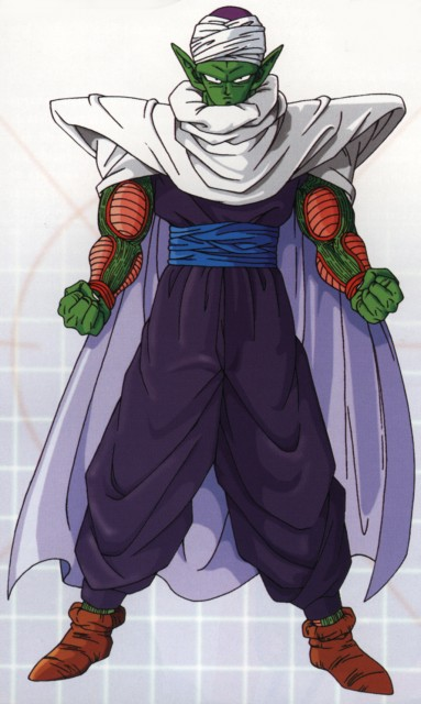 Minitokyo » Dragon Ball Z » Piccolo - Wallpaper and Scan Gallery