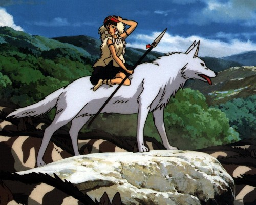 Princess Mononoke Japanese Animated Films