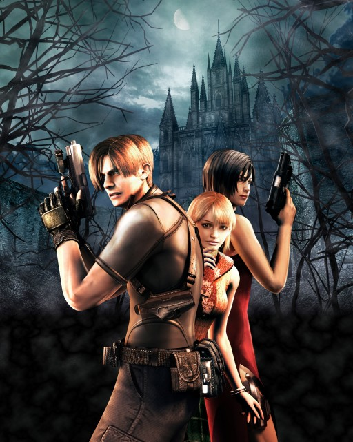 Resident Evil 4 Wallpaper And Scan Gallery Minitokyo