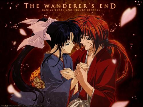 ruroni kenshin wallpapers. Rurouni Kenshin, Kaoru Kamiya, Kenshin Himura Wallpaper