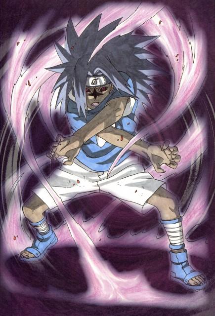 sasuke cursed seal wallpaper and scan gallery minitokyo