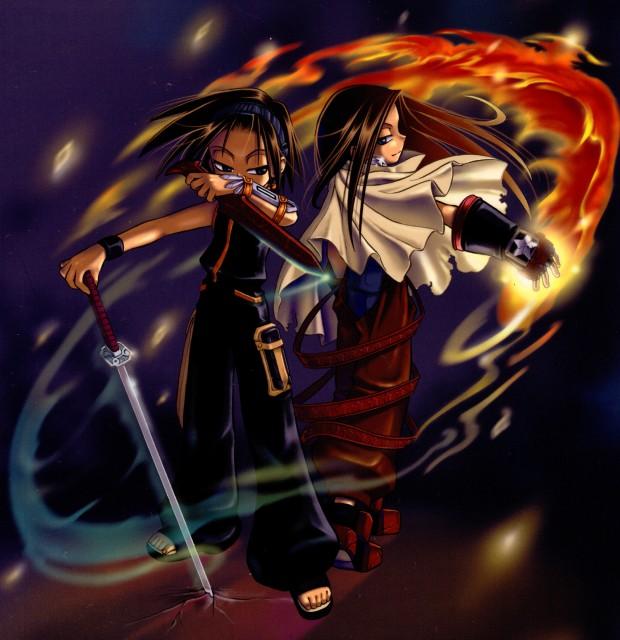 Shaman King Vs Shaman King Kanzenban: Monster Designs: Shaman King Hao