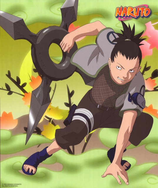shikamaru nara wallpaper and scan gallery minitokyo