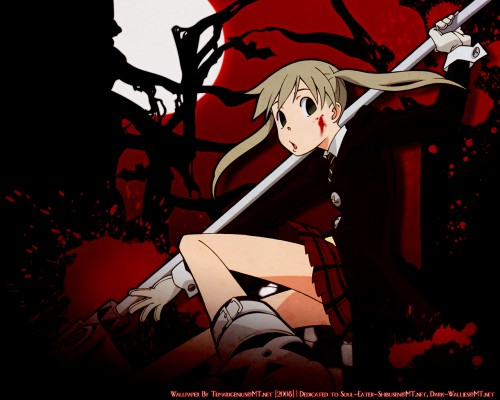 Minitokyo » Soul Eater Wallpapers » Soul Eater Wallpaper: .Bloody Path.