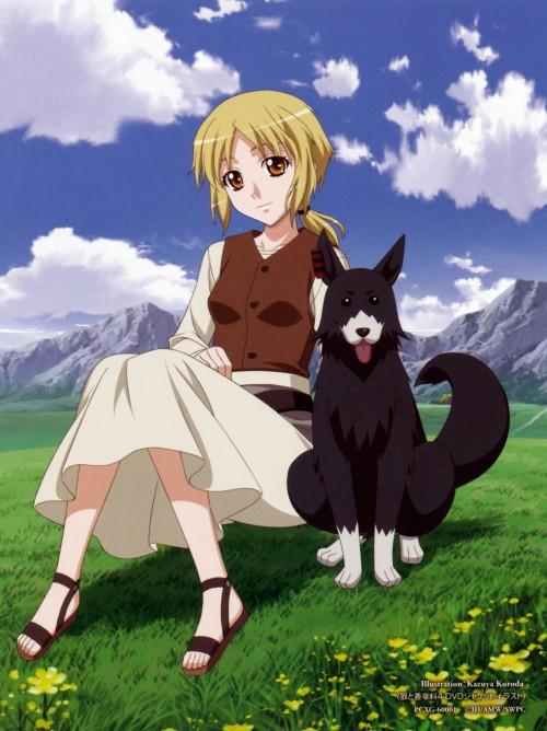 anime wolf creator