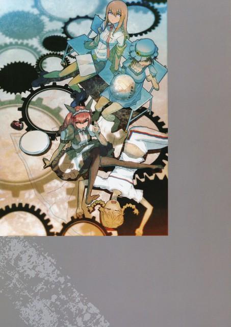 huke, Nitro+, Steins Gate, Mayuri Shiina, Kurisu Makise