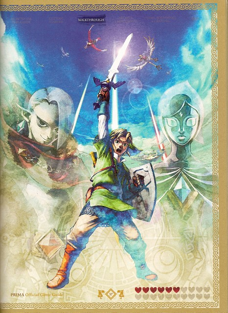 Zelda Skyward Sword Characters