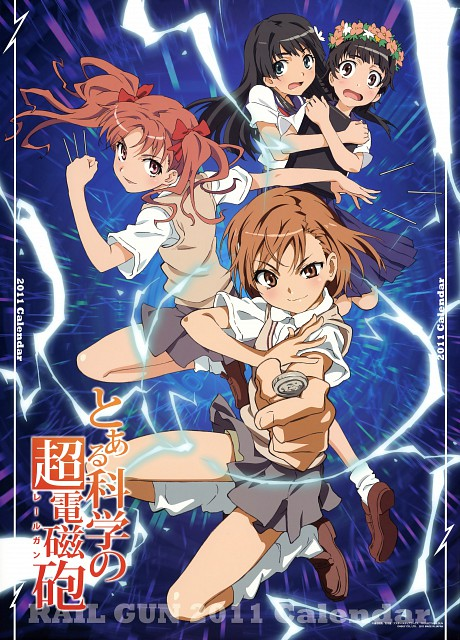 To Aru Kagaku No Railgun Wallpaper And Scan Gallery